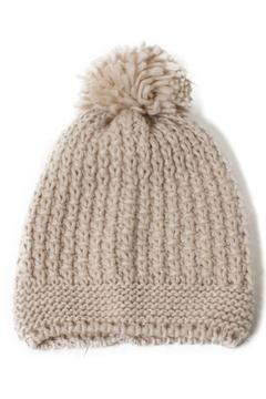 David & Young Stitch Knit Beanie - Product List Image