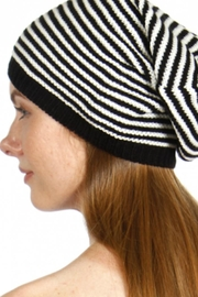 David & Young Striped Knit Beanie - Other