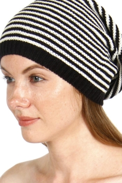 Shoptiques Product: Striped Knit Beanie
