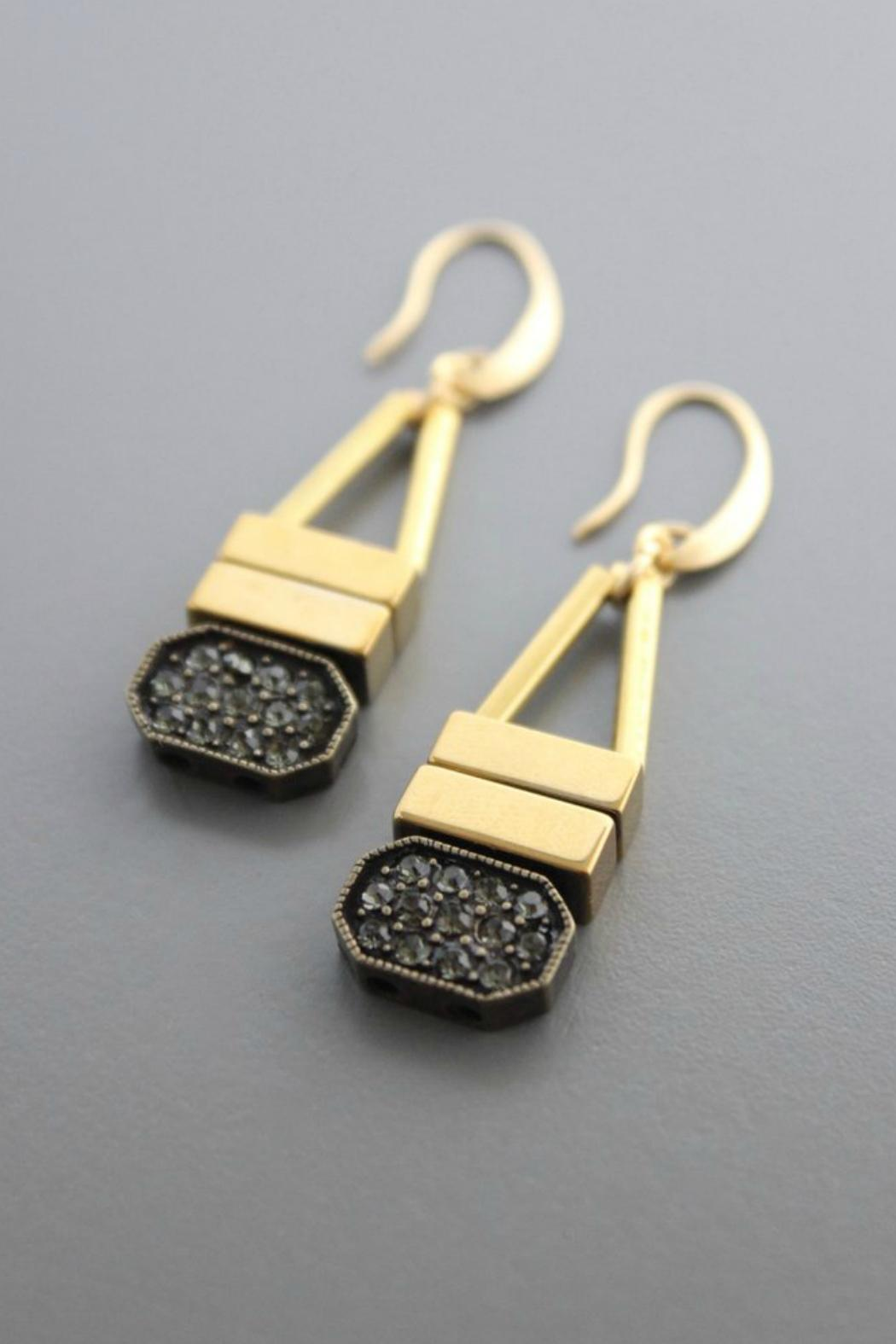 David Aubrey Plated Brass Earring - Main Image