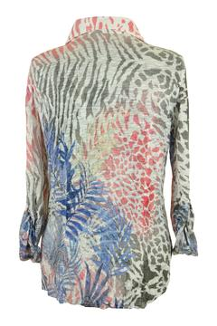 Shoptiques Product: Fern Crinkle Shirt