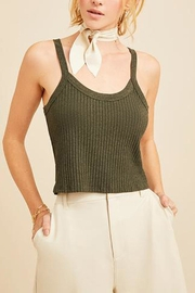 David Lerner Aiden Crop Tank - Product Mini Image
