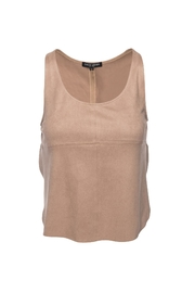 David Lerner Nude Overlap Tank Top - Front cropped