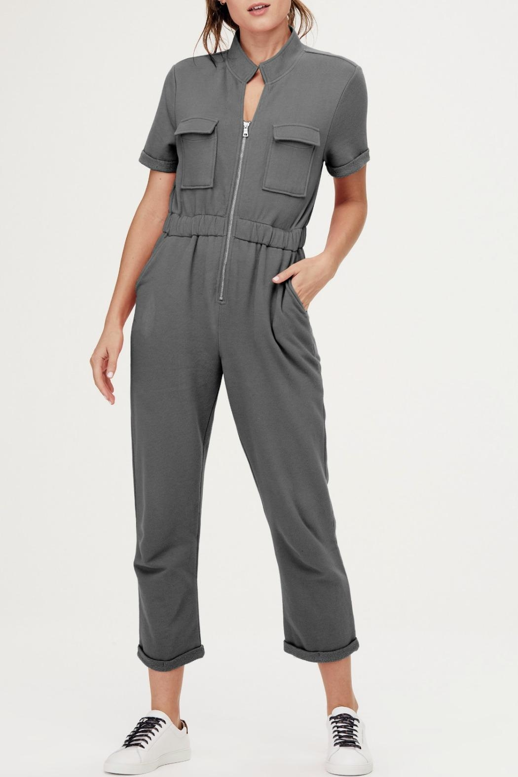 David Lerner New York Cassie Cargo Jumpsuit - Main Image