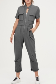 David Lerner New York Cassie Cargo Jumpsuit - Product Mini Image