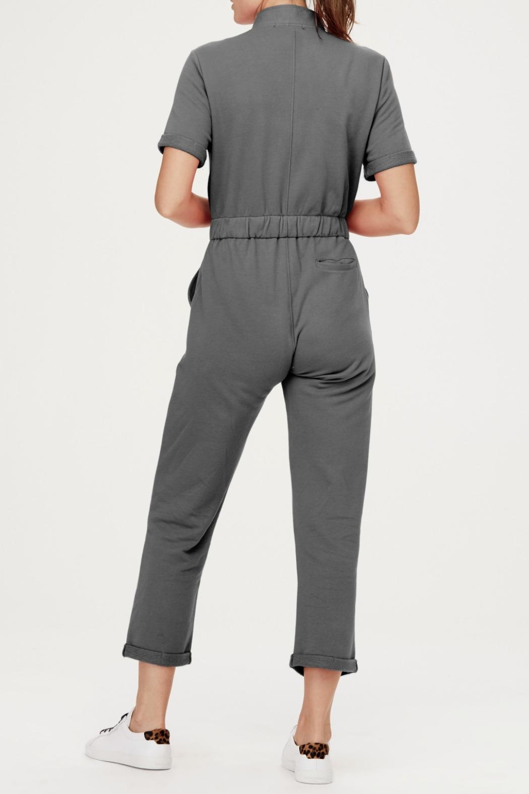 David Lerner New York Cassie Cargo Jumpsuit - Side Cropped Image