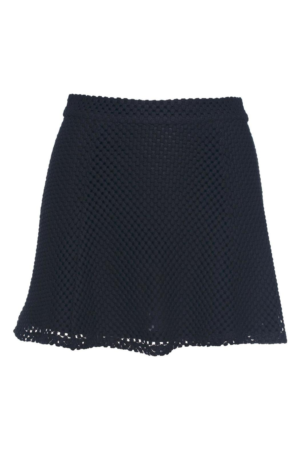 David Lerner New York Lace Bowery Skirt - Front Cropped Image