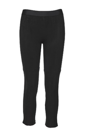 David Lerner New York Microsuede Seamed Legging - Front cropped