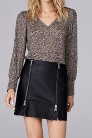 David Lerner New York Puff Sleeve Top - Front cropped