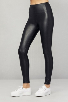 David Lerner New York Vegan Leather Leggings - Alternate List Image