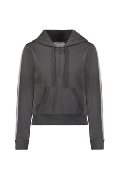 David Lerner New York Zip Crop Hoodie - Alternate List Image