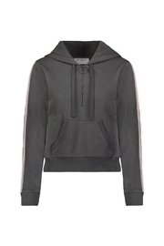 David Lerner New York Zip Crop Hoodie - Product Mini Image
