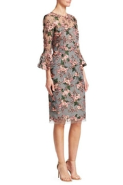 David Meister 3/4 Sleeve Dress - Side cropped