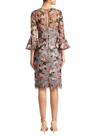 David Meister Floral Cocktail Dress - Front full body