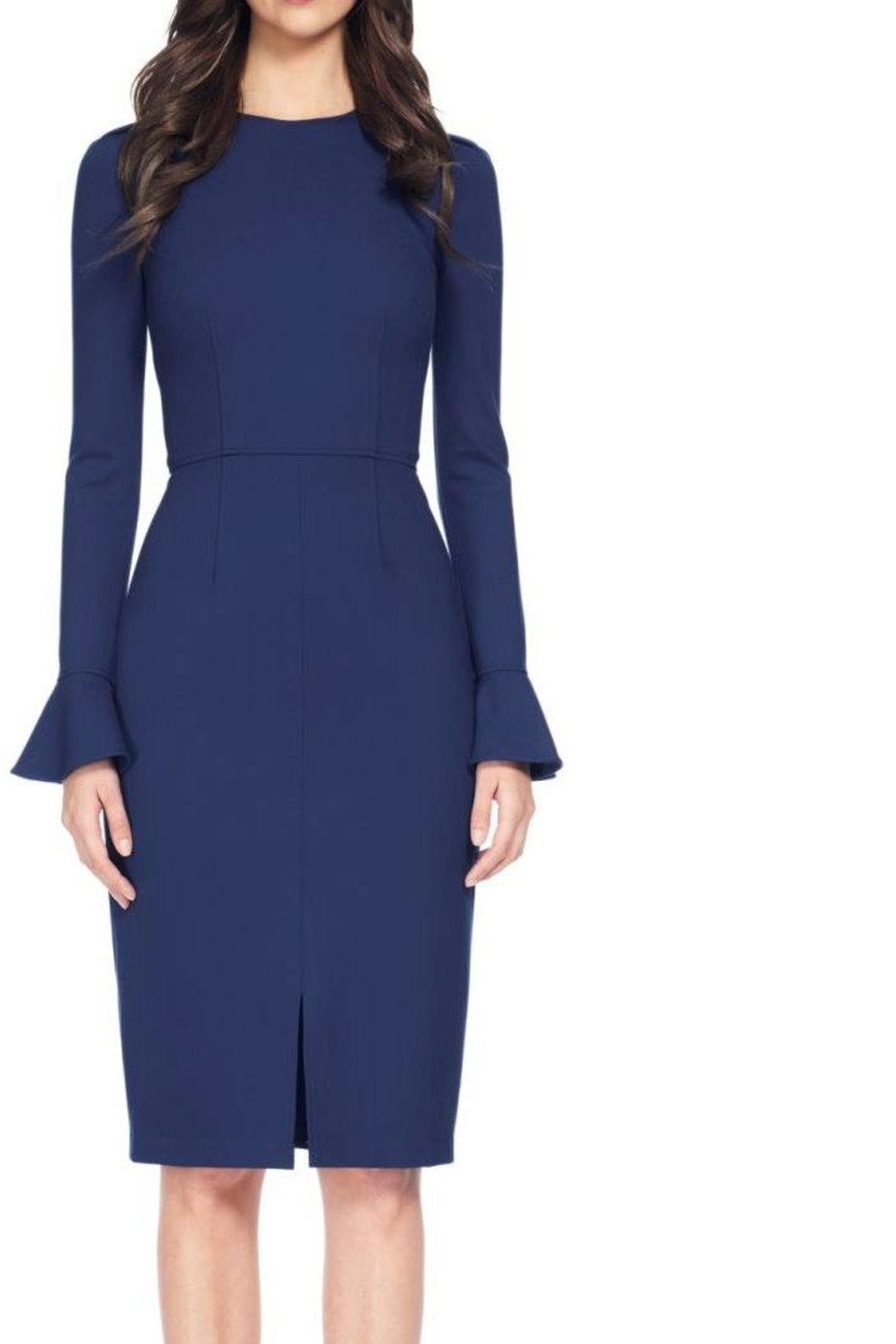 David Meister Long Sleeve Dress - Main Image
