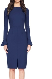 David Meister Long Sleeve Dress - Front cropped