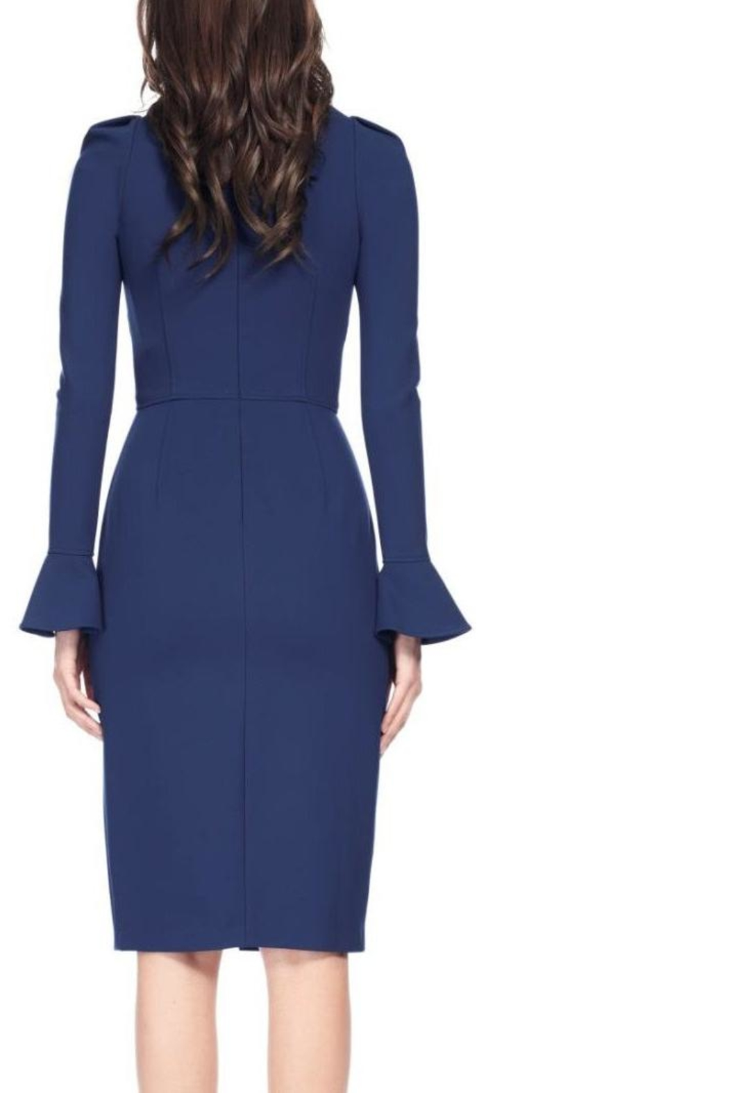 David Meister Long Sleeve Dress - Front Full Image