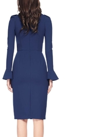 David Meister Long Sleeve Dress - Front full body