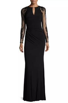 David Meister Long Sleeve Gown - Product List Image