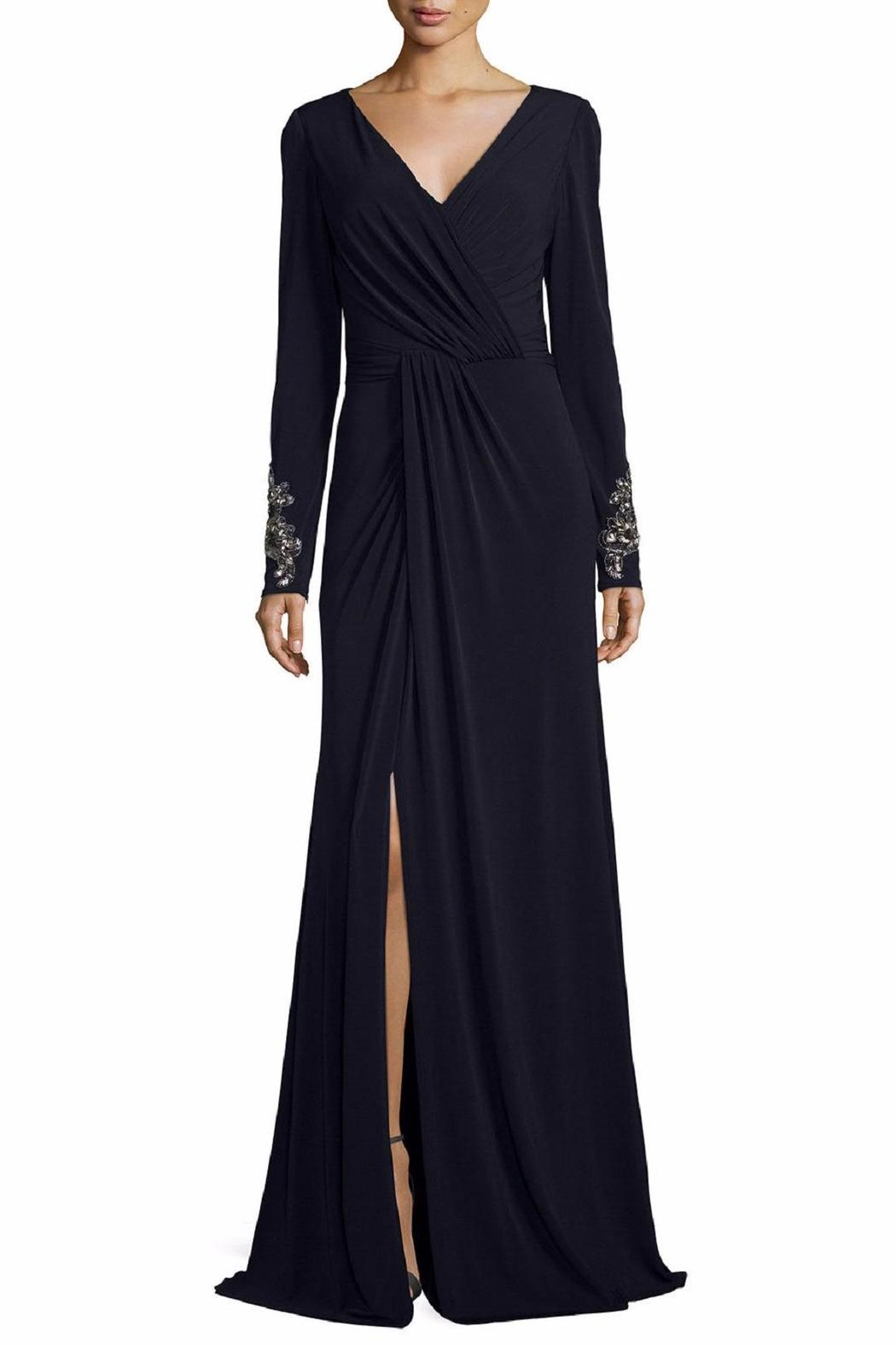 David Meister Long Sleeve Gown - Main Image