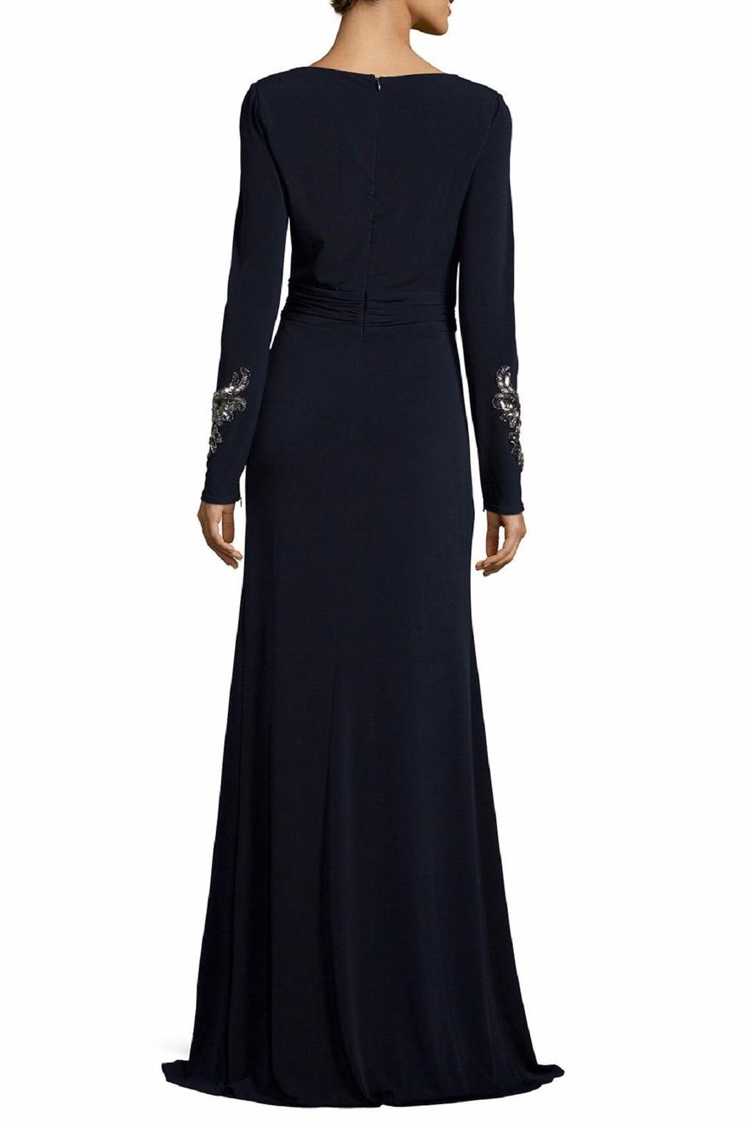 David Meister Long Sleeve Gown - Front Full Image