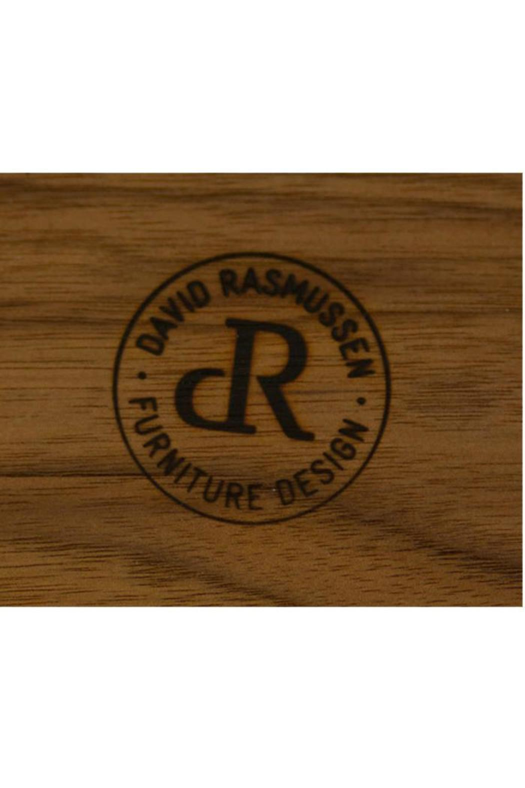 David Rasmussen Furniture Walnut Cafe Plate - Front Full Image