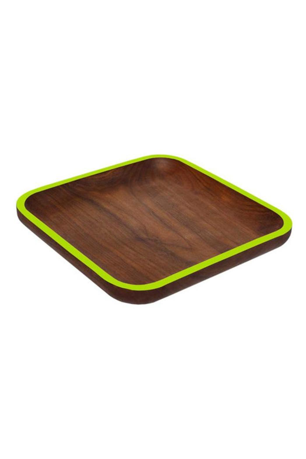 David Rasmussen Furniture Walnut Cafe Plate - Main Image