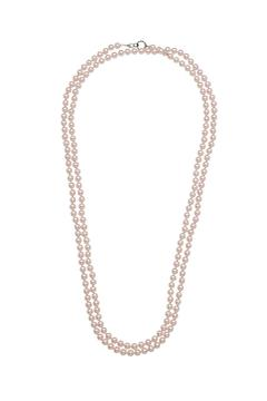 David Tutera Embellish Long Pearl Necklace - Alternate List Image
