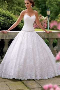Shoptiques Product: Strapless Bridal Gown