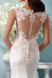 David Tutera for Mon Cheri Fit And Flare - Back cropped