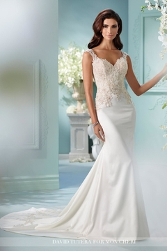 David Tutera for Mon Cheri Fit And Flare - Product List Image