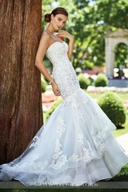 David Tutera for Mon Cheri Lace Mermaid Gown - Product Mini Image