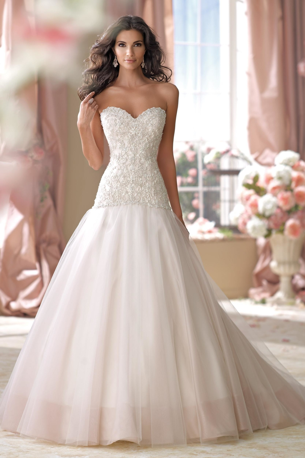 David Tutera for Mon Cheri Modified A-Line Gown from Ohio by ...