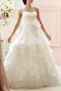 Shoptiques Product: Organza Ballgown Bridal Dress