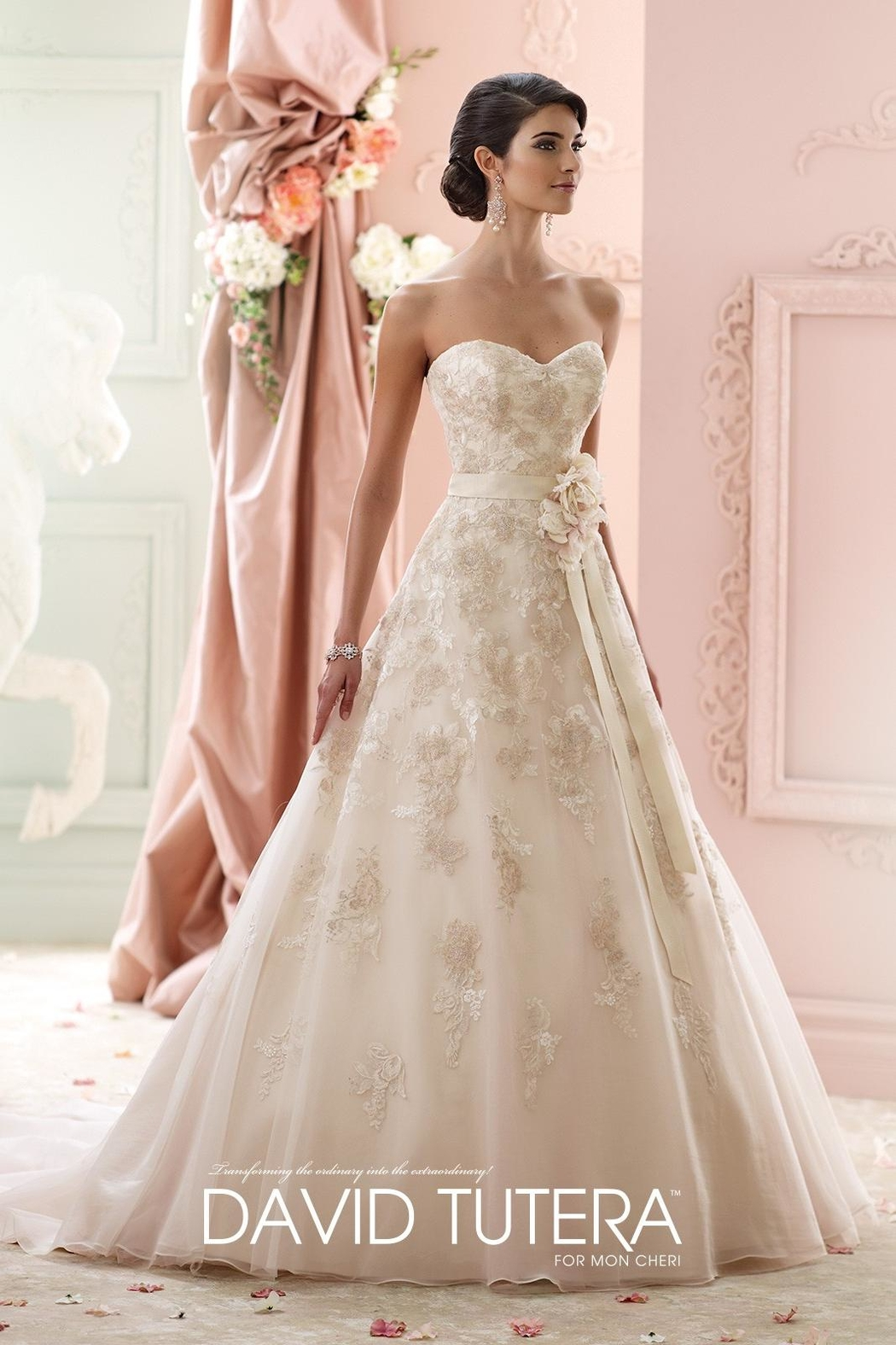 David Tutera for Mon Cheri Organza Ballgown from Ohio by Jillian\'s ...