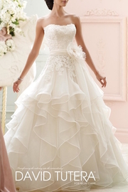 David Tutera for Mon Cheri Ruffle Wedding Gown - Product Mini Image