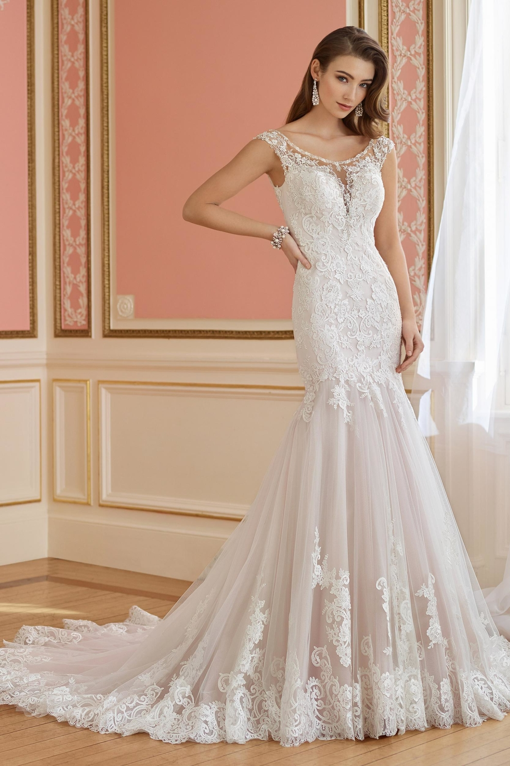 David Tutera for Mon Cheri Trumpet Wedding Gown from Ohio by ...