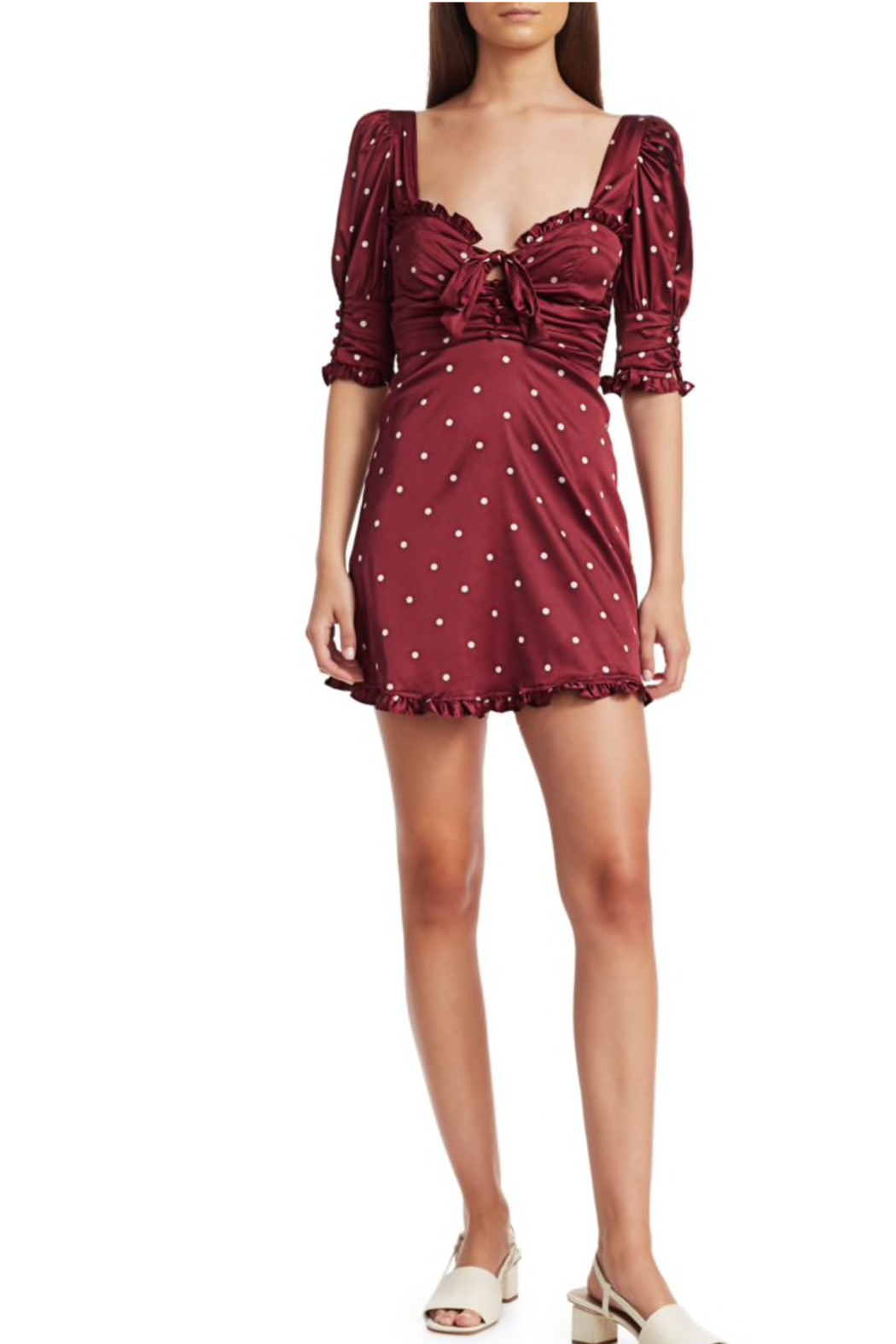 FOR LOVE & LEMONS Davies Swing Dress - Front Cropped Image