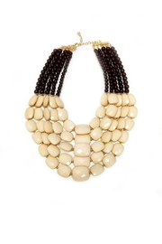 DAVINCI Bead Statement Necklace - Front cropped