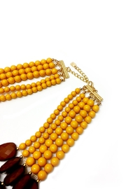 DAVINCI Bead Statement Necklace - Side cropped