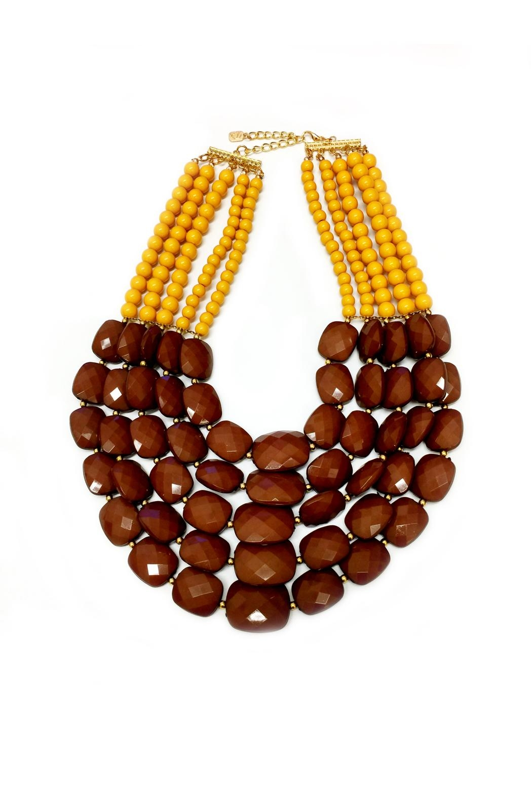 DAVINCI Bead Statement Necklace - Main Image