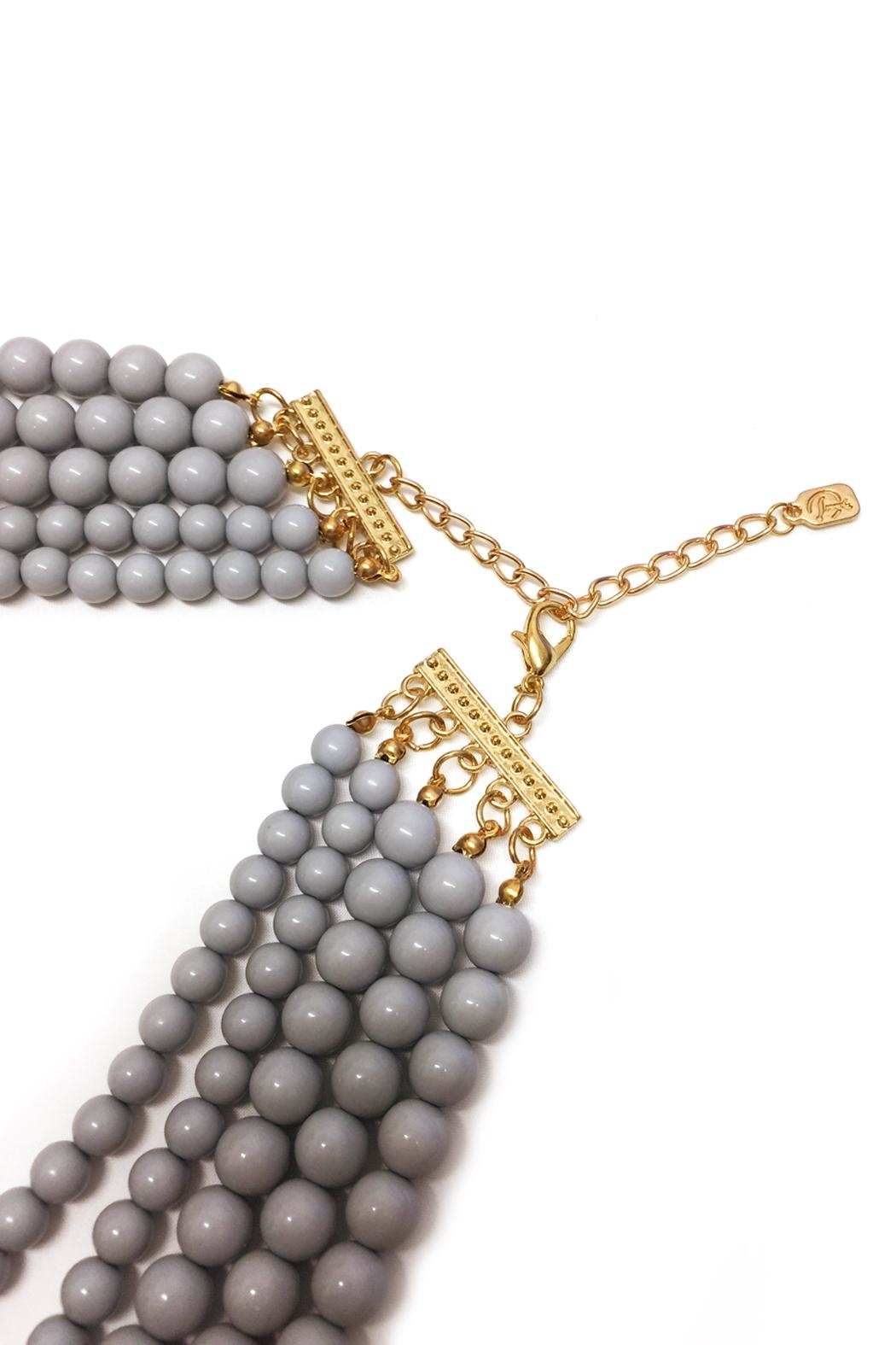 DAVINCI Bead Statement Necklace - Side Cropped Image
