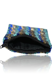 DAVINCI Glass Beaded Pouch - Back cropped