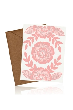 Shoptiques Product: Block Printed Cards