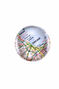 Shoptiques Product: Chicago Map Paperweight