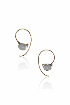 Shoptiques Product: Dewdrop Small Earrings