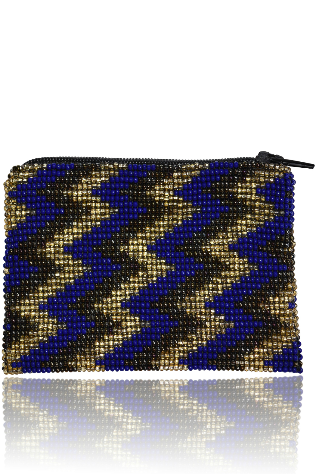 DAVINCI Glass Beaded Pouch - Front Full Image