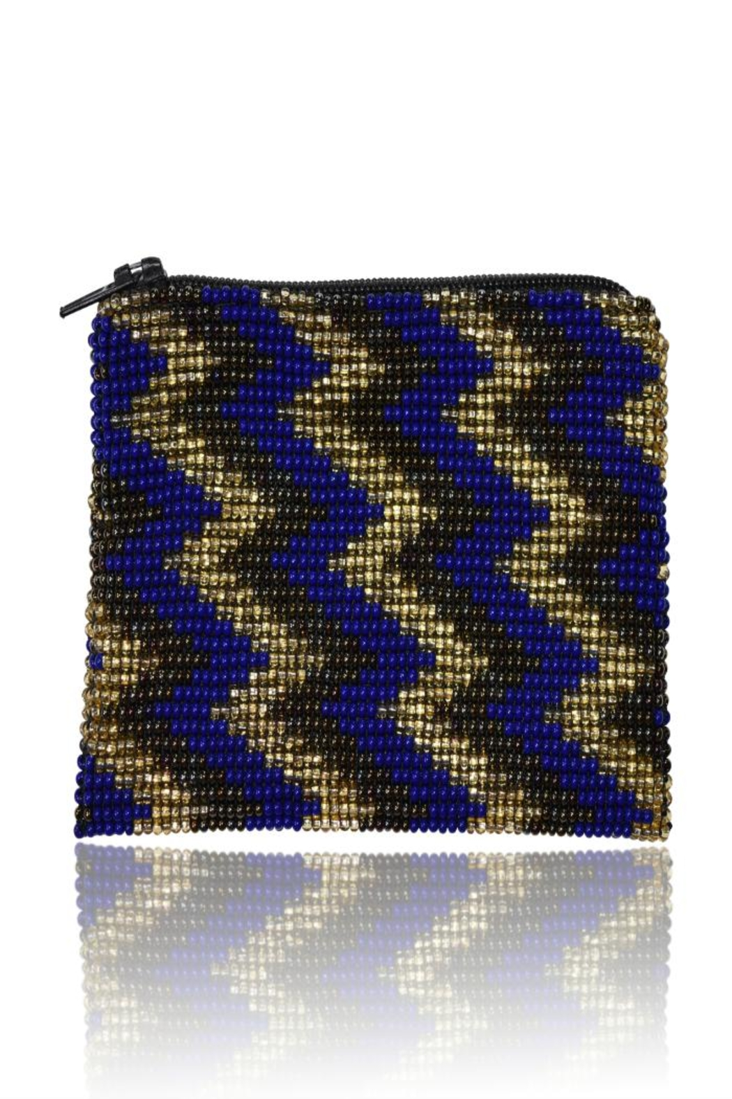 DAVINCI Glass Beaded Pouch - Front Cropped Image
