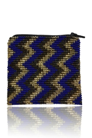DAVINCI Glass Beaded Pouch - Front full body