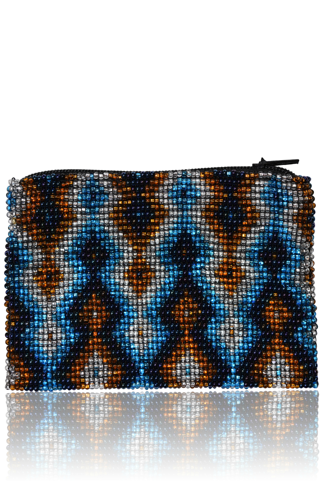 DAVINCI Glass Beaded Pouch - Main Image